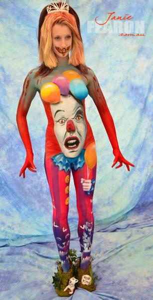 DREAMS AND NIGHTMARES artist Janie Fearon photo Mark Winter model Nicole Ellis.